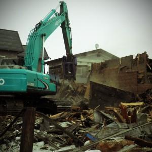 28桜木団地既設公営住宅(1工区)解体工事