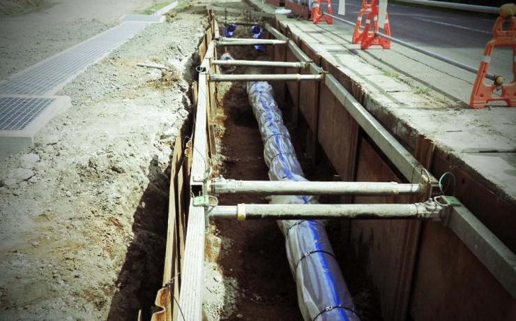 森田地区送水管布設(第2工区)工事